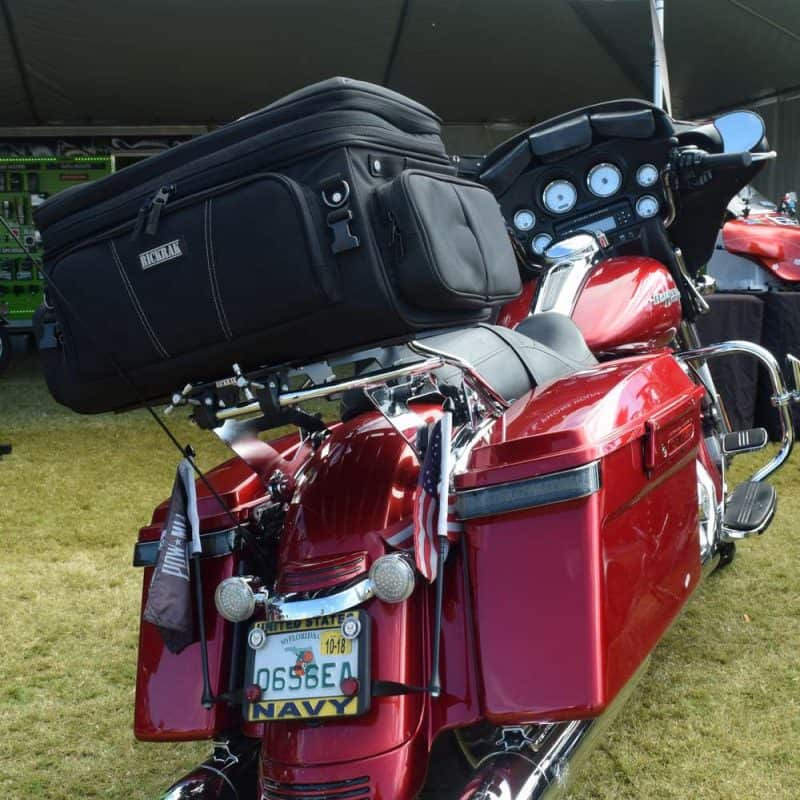 Home Enthusiastic Air Wing Luggage Rack Led Tail Brake Light For Harley Electra Street Road Glide