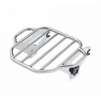 Chrome Two Up Luggage Rack
