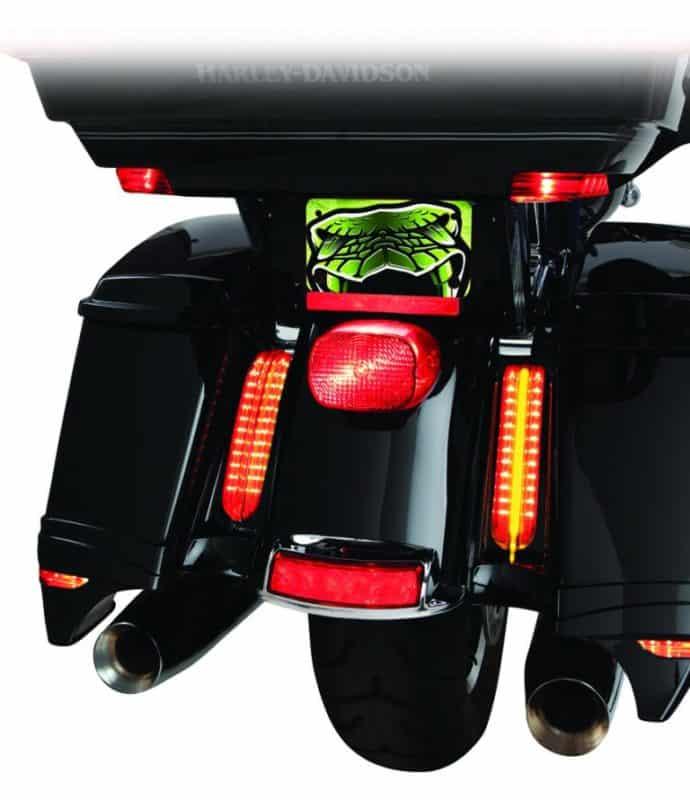 Ciro® Filler Panel Lights For Ultra / Road King 2014 UP